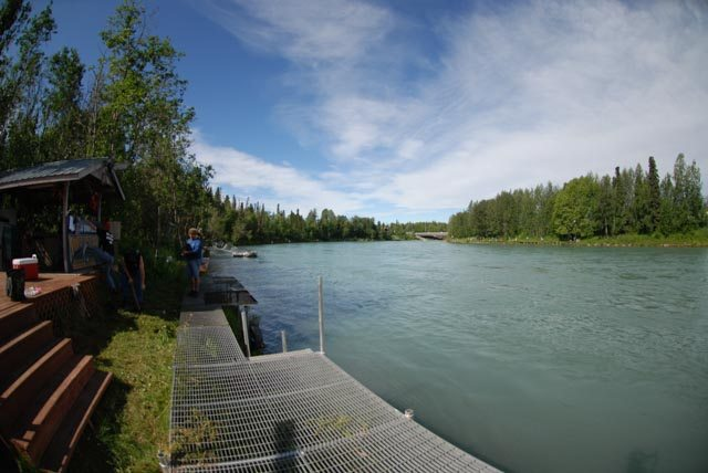 Kenai Riverfront Fishing Lodge